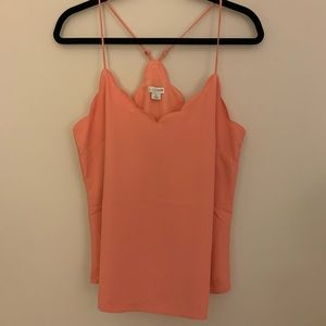 J.Crew Scalloped Cami M/8